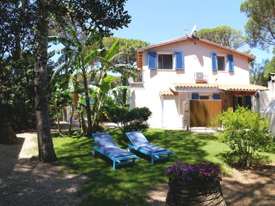 Photo for 6 beds, 300 meters from the beach, Wifi, BBQ, outdoor shower.