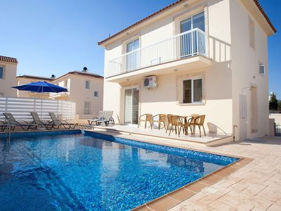 Photo for Stylish and Modern Villa located in the famous resort of Pernera and just 500 m from the Beach!