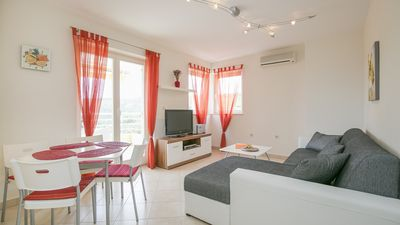 Photo for Modern, charming apartment with sea views, private parking, free Wi-Fi