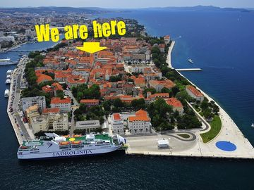Port Gate, Zadar, Croatia