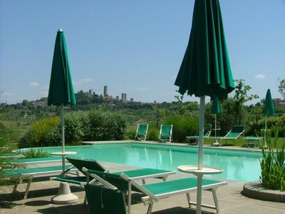 Photo for 1BR Apartment Vacation Rental in San Gimignano, Region Chianti