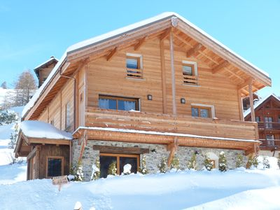 Photo for LARGE INDIVIDUAL CHALET CLASS 4 STARS, SUNNY, QUIET;