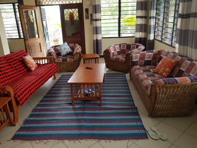 Photo for Spacious 3 bed apartment fully furnished