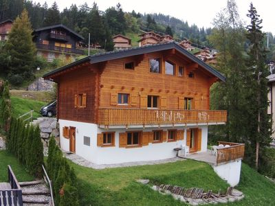Photo for Spacious Chalet near the centre of La Tzoumaz.