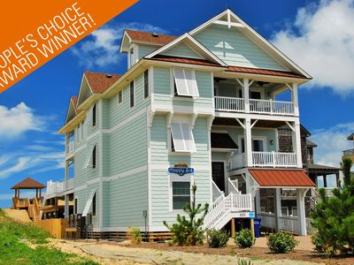 Photo for People's Choice Award Winning Oceanfront 9 Bedroom Nags Head Luxury Home!