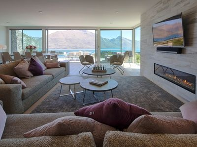 Photo for Papillon - a simply stunning villa close to town with iconic Queenstown views