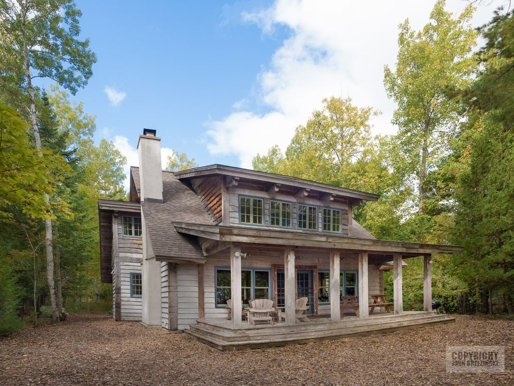 Quintessential Door County Cabin On Lake Michigan Valmy