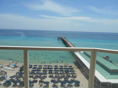 Photo for La Perla Ocean Front - 1 /1 Luxury apartment on the beach Sunny Isles