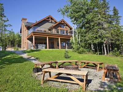 Photo for MIRADOR 1, A MAGNIFICENT COTTAGE IN CHARLEVOIX HEART !