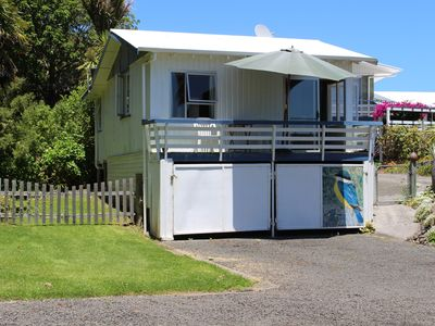 Photo for 1BR Cottage Vacation Rental in Amodeo Bay, Waikato