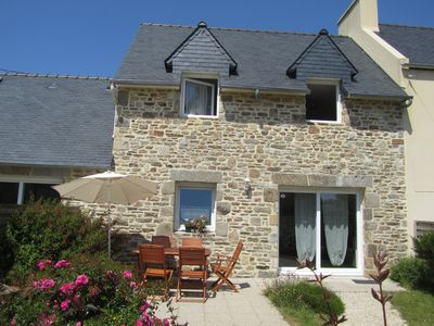 Photo for Pointe Finistere, seaside, quality cottage 2 / 4pers in St-Pabu, 29830