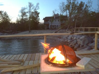 Photo for Rekindle the fire at Lakeside Haven
