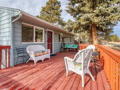 Photo for NEW LISTING! Lovely home w/ deck & mountain view - near outdoor adventures