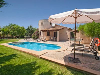 Photo for Villa with pool in quiet location for 4 people in Pollenca