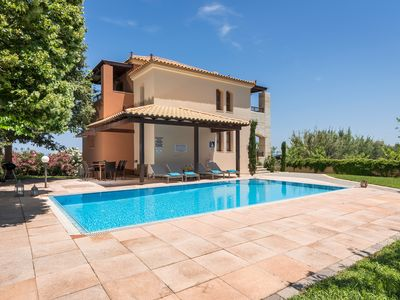 Photo for Villa Aphrodite w/Private Pool 300m to Amenities & the Beach. 16km from Chania