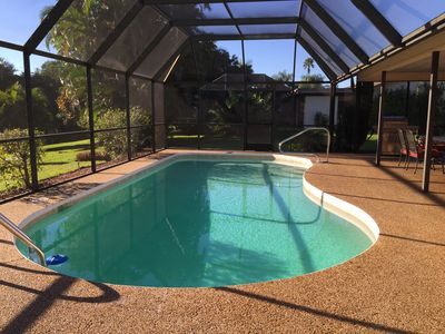 Photo for Great family home with a brandnew sparkling pool,lovely lake view,close to beach