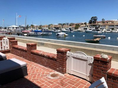 Photo for BALBOA ISLAND WATERFRONT .... STEPS TO THE SAND