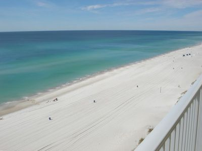 Enjoy the beautiful white sand beaches and emerald waters from the balcony