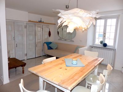 Photo for Introductory price: APARTMENT ON PARASIO: in the quiet old town, walking distance to the beach
