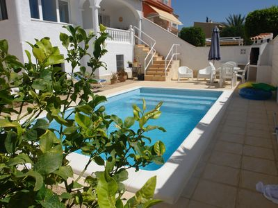 Photo for Seaview Villa near Altea, Costa Blanca