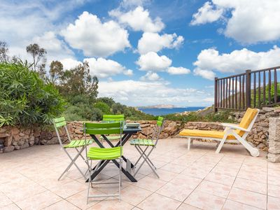 Photo for Baja Sardinia - Holiday Apartment with Sea View and Terrace; Parking Available; Pets Allowed