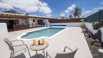 Photo for 2 Bedroom 2 Bathroom Villa,  Heated Pool, Play Area. Air Con. Prime Location.