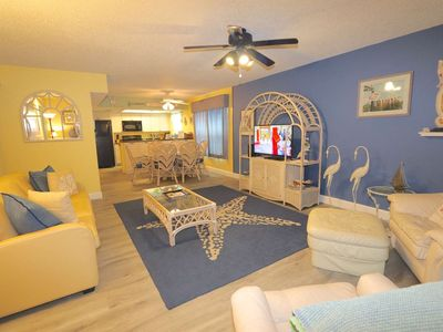 Photo for Beachside with 2 Balconies, Free Wi-Fi, Cable, Phone, W/D, Grill, Covered Parking – 1 Pipers Nest