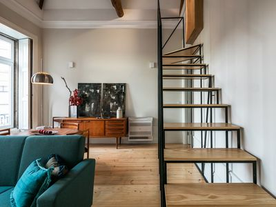 Photo for Apartment with lots of light and a spectacular mezzanine. Sleep with the stars!