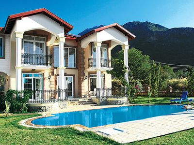 Photo for Modern villa with large pool and Wi-Fi, located close to popular resort