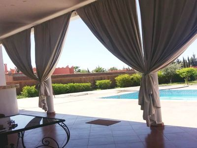 Photo for Large Villa with pool on Marrakech 4145