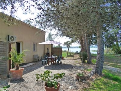 Photo for 5 km from Aléria and its beaches, quiet, nature, lakeside (150 m) 5 persons