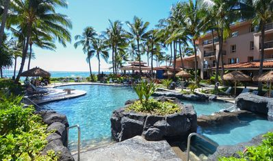 Photo for Marriott Waiohai Beach Club - 2 BR Sleeps 8 - Oceanview for FRI, SAT, OR SUN
