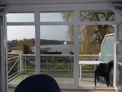 Photo for 2-room apartment - Villa lily, balcony, overlooking Schmachter lake