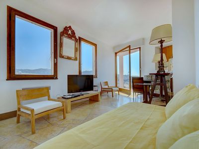 Photo for IMMOGROOM -Townhouse - A/C - Sea View terrace - Charming - CONGRESS/BEACHES