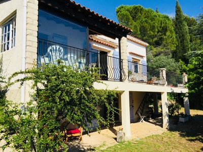 Photo for Country house panoramic view 5km from the beaches of Bandol and Castellet