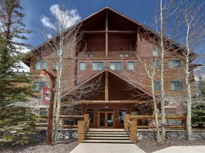 Photo for Arapahoe Lodge 1 bd 1 ba Wlk to ski in River Run Village