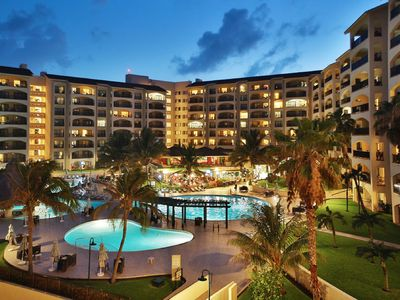 Photo for ROYAL ISLANDER, 2BR SUITE FAMILY RESORT ON THE FINEST BEACH IN CANCUN wk. 22