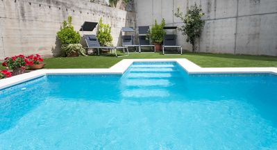 Photo for AZALEA - PRIVATE POOL - QUIET AREA - Yard, bbq and ping pong - 20 minutes from Barcelona