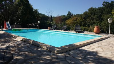 Photo for Villa Figanieres swimming pool sleeps 10 175 m2