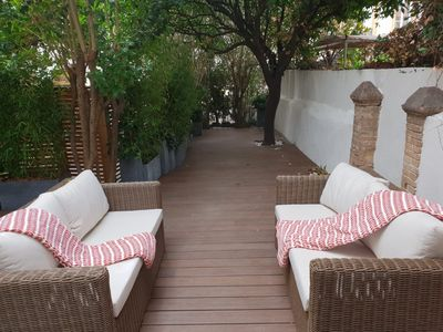 Photo for Beautiful Apartment with Private Garden - 2/4 people