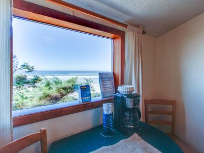 Photo for Oceanfront upstairs condo w/beach access - dogs welcome!