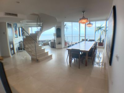 Photo for Magnificent 3 Story Large Penthouse Directly on the Beach