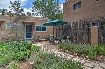 The sunny southwest awaits you in this quaint Santa Fe vacation rental cottage!