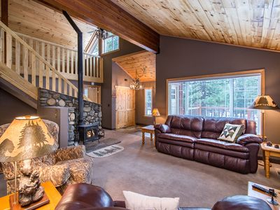 Photo for 3BR Lodge-Inspired Home Near 5-Star Tahoe Donner Facilities & Ski Resorts