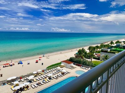 Photo for Incredible OCEANFRONT Beach View Studio W/ Balcony! WOW!