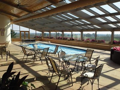 Photo for Magnificent, panoramic views during any season in Wine Country 4BR/4BA home