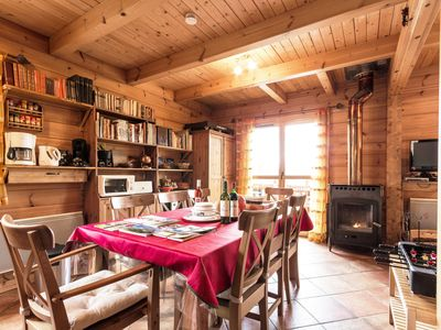 "Photo for INDIVIDUAL WOODEN CHALET ENTIRELY EQUIPPED ""La Joue Du Loup"" (Hautes-Alpes 05)"