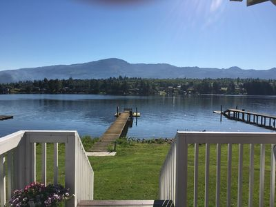 Photo for Big Lake Vacation Rental with View of Mt. Baker (Rustic/Vintage Cozy Cottage)