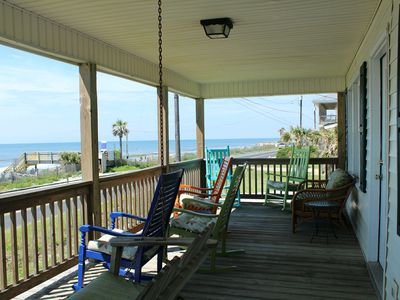 Photo for Oceanfront! Book 3 nts, get the 4th Free (Sept. thru Mar.  new bookings only)!
