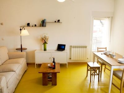 Photo for Sunny apartment in historic center right next to the cathedral